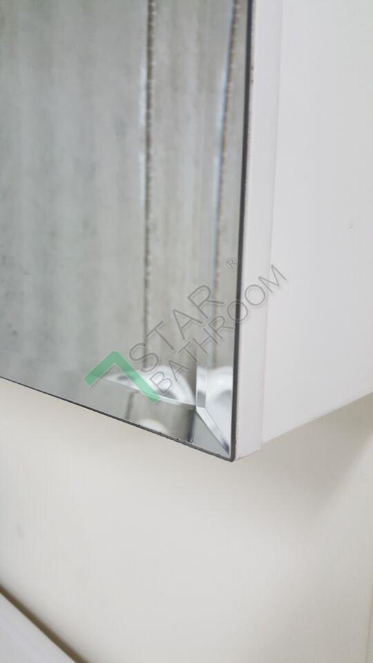 Bevel edge 750x720x150mm bathroom vanity mirror cabinet for Mirror 750 x 1200