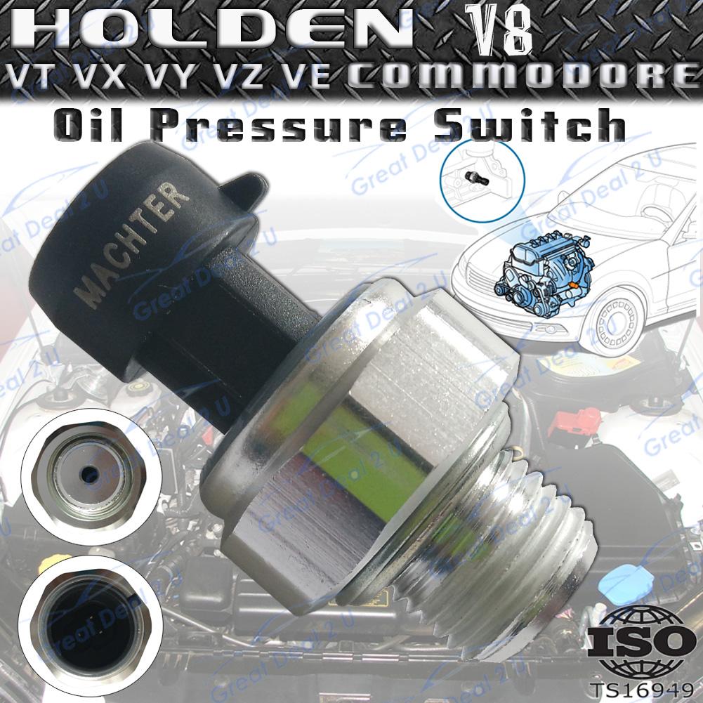 Holden Commodore Oil Pressure Switch Sensor V8 VT VX VY VZ VE 5.7 ...