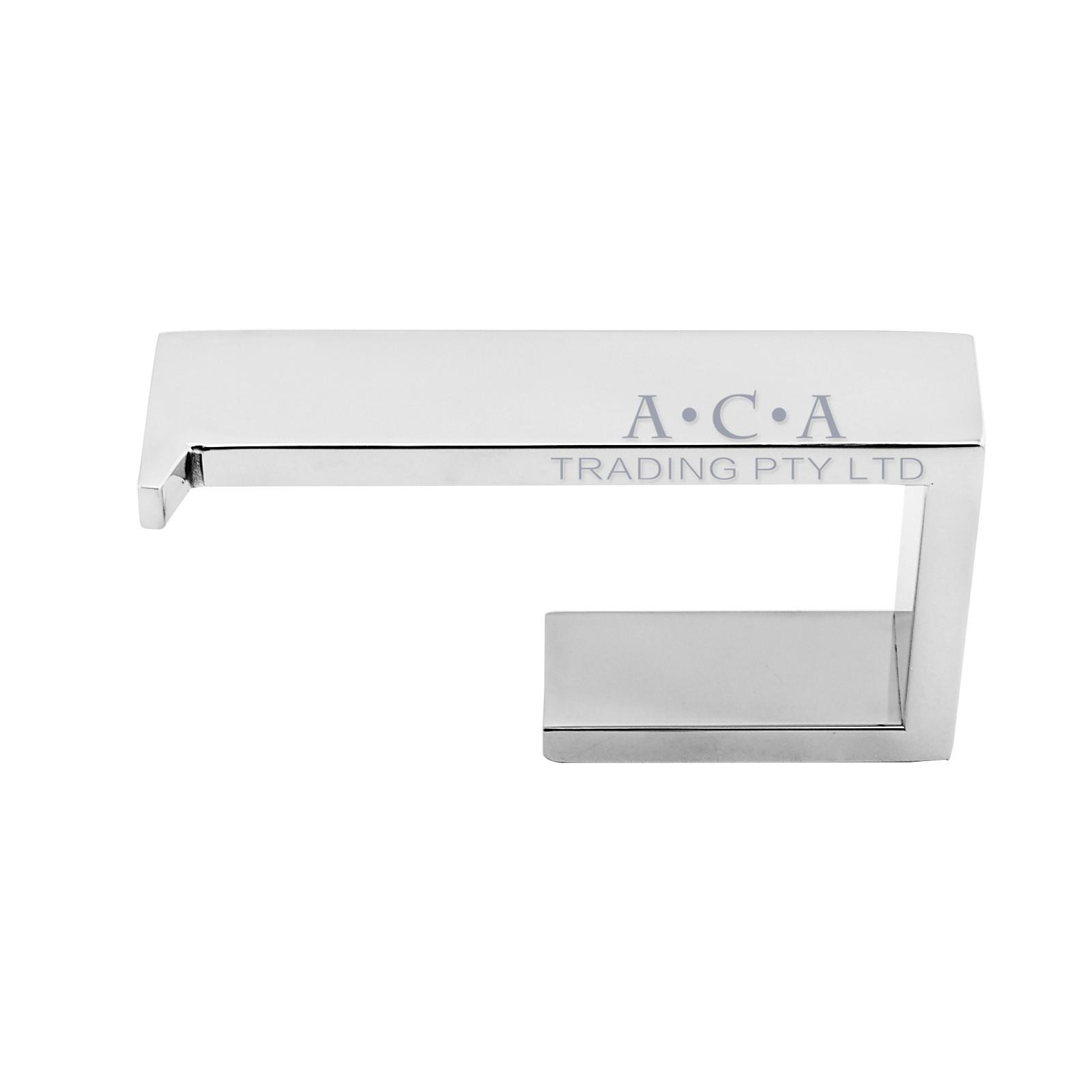 aca toilet paper roll holder chrome 304 stainless steel wall mount hook bathroom ebay. Black Bedroom Furniture Sets. Home Design Ideas