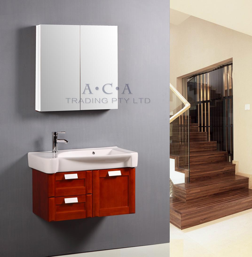 Aca 1200 900 750 600mm Bathroom Vanity Shaving Mirror Cabinet Pencil Bevel Edge