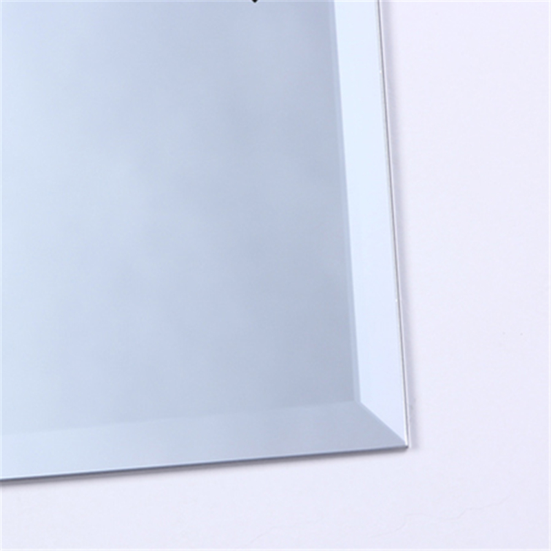 Large Frameless Bathroom Mirrors Samson Large Frameless Mirror Contemporary Wall Large