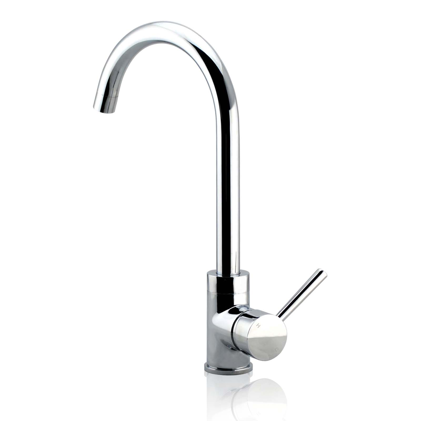 Wels brass kitchen basin sink mixer tap swivel spout shower head spray faucet ebay - Shower head for kitchen sink ...