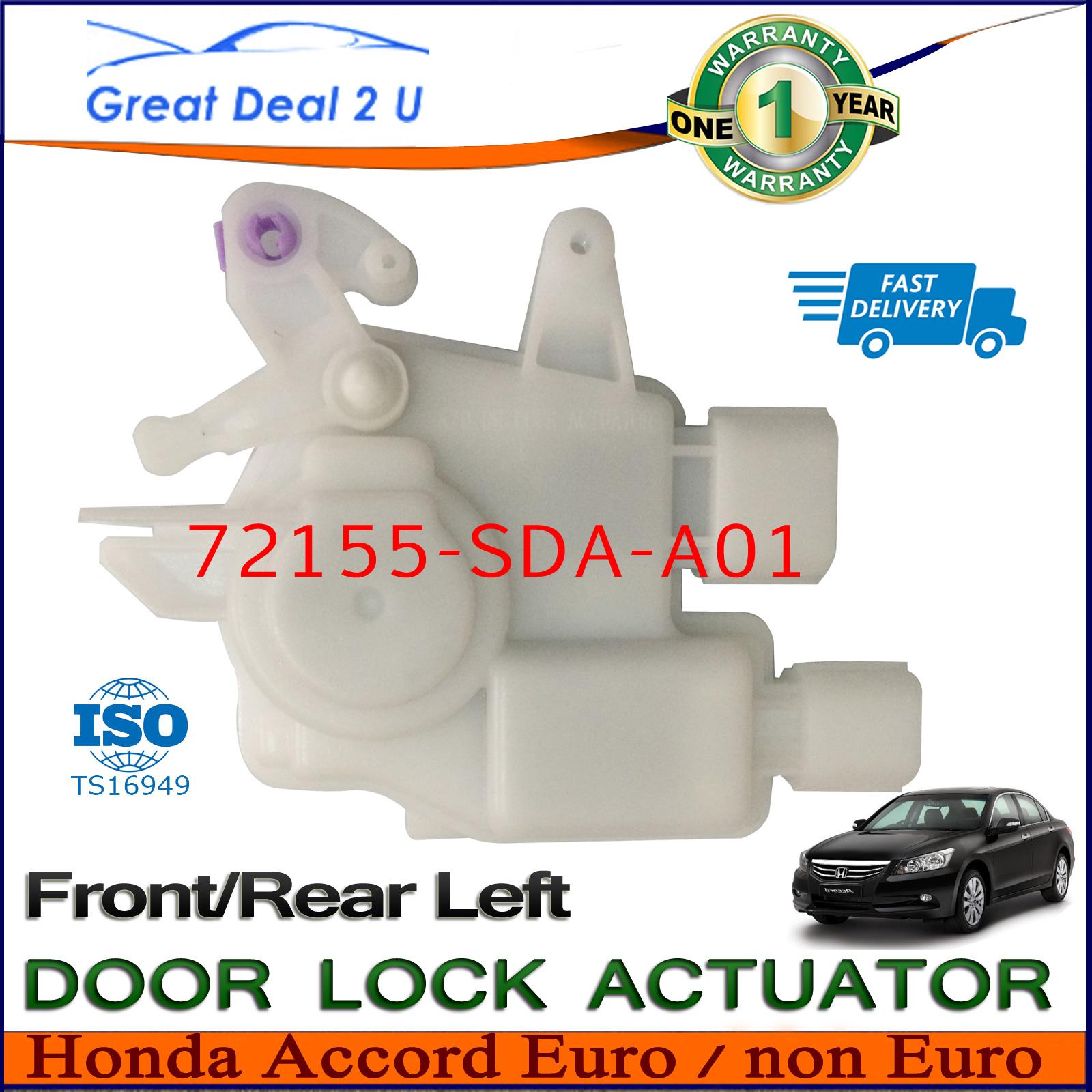 honda accord door lock actuator euro non euro front left For05 Honda Accord Door Lock Actuator