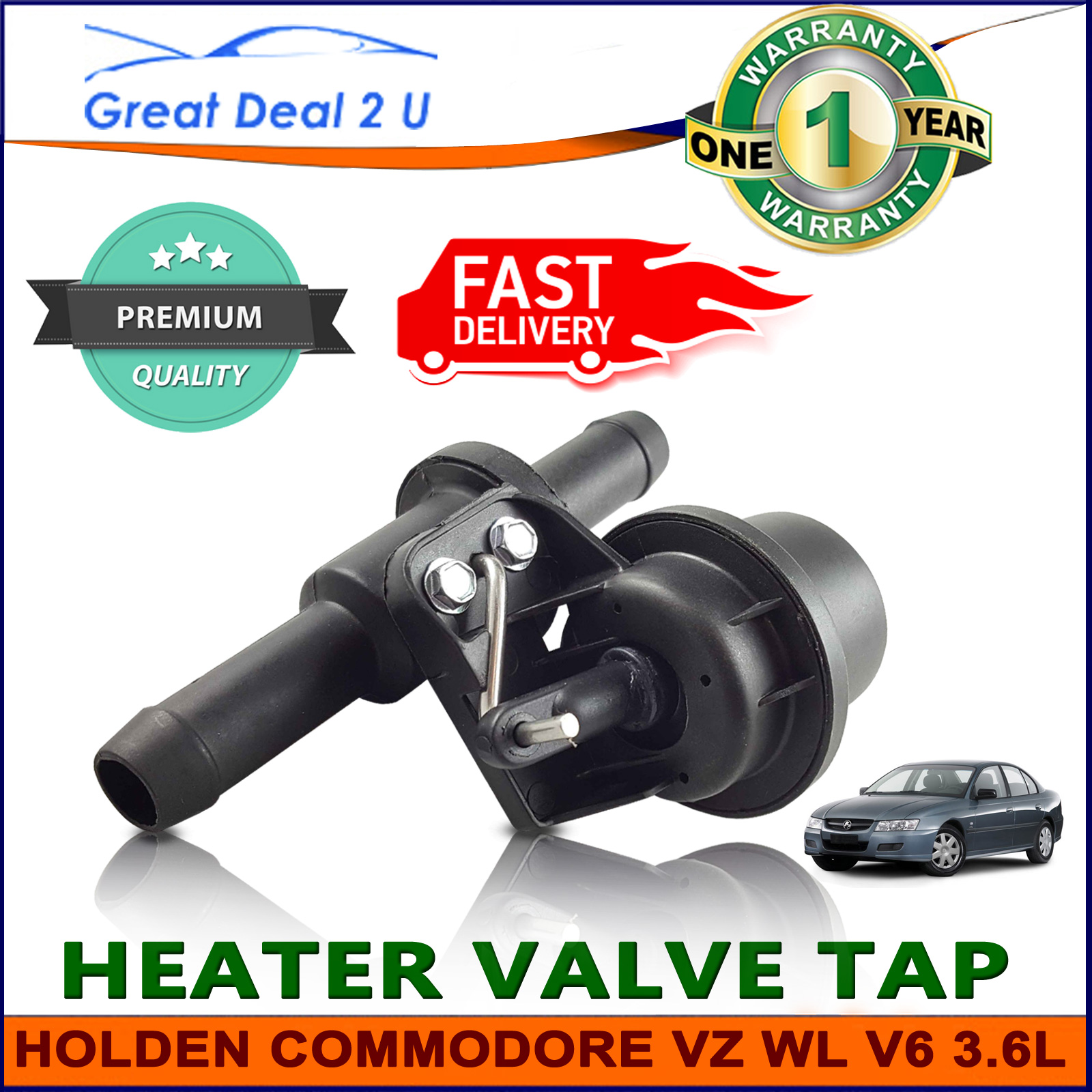 Holden heater valve tap commodore vz wl statesman one tonner heater valve tap holden commodore vz wl v6 36l crewman statesman hv2005 vanachro Gallery