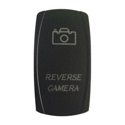 ... Etched Rocker Switch ARB Carling Dual Blue Reverse Camera 12V 24V Boat