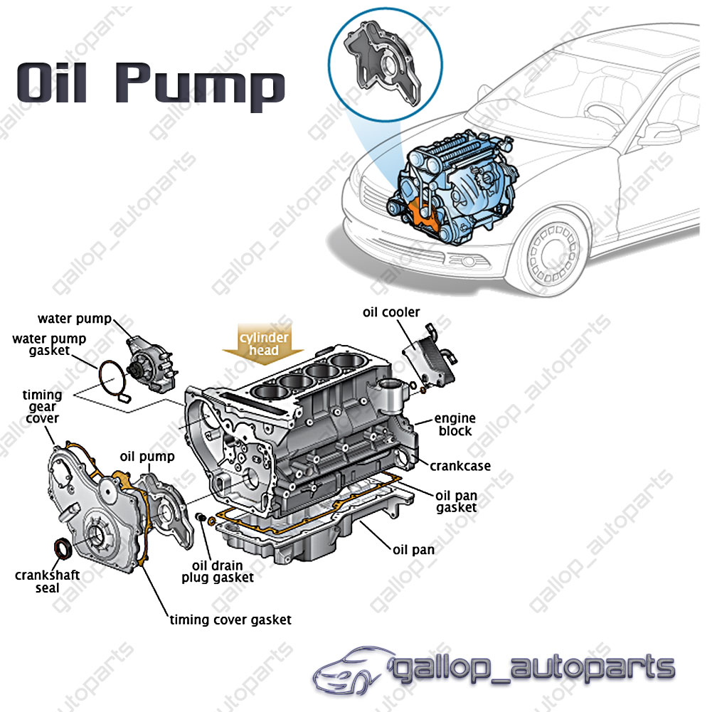 oil pump holden commodore vz ve vf alloytec sidi v6 3 6l 2002 toyota rav4  engine