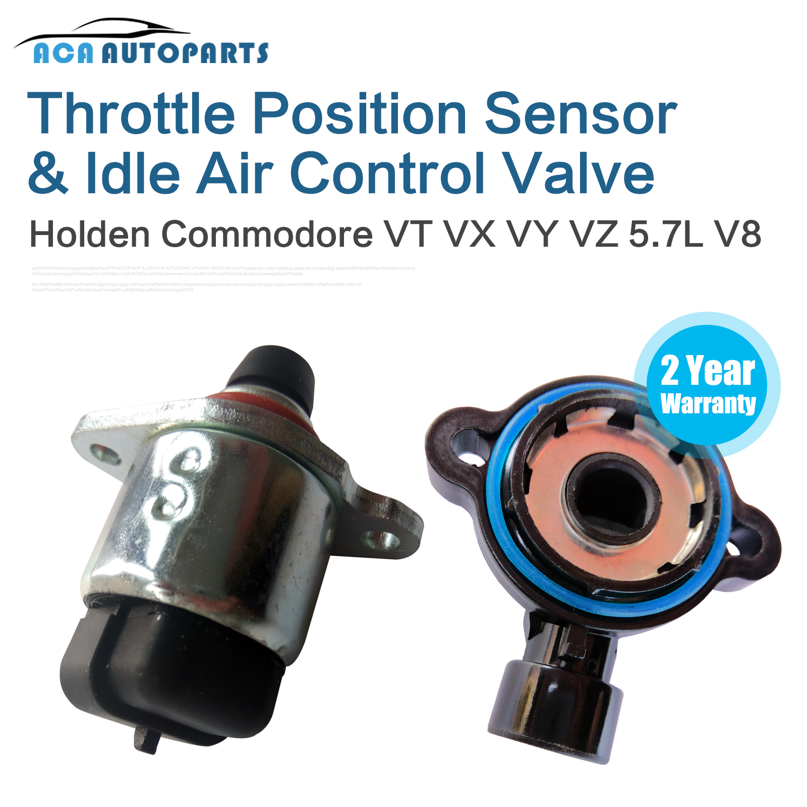 Holden Commodore Throttle Position Sensor TPS And Idle Air