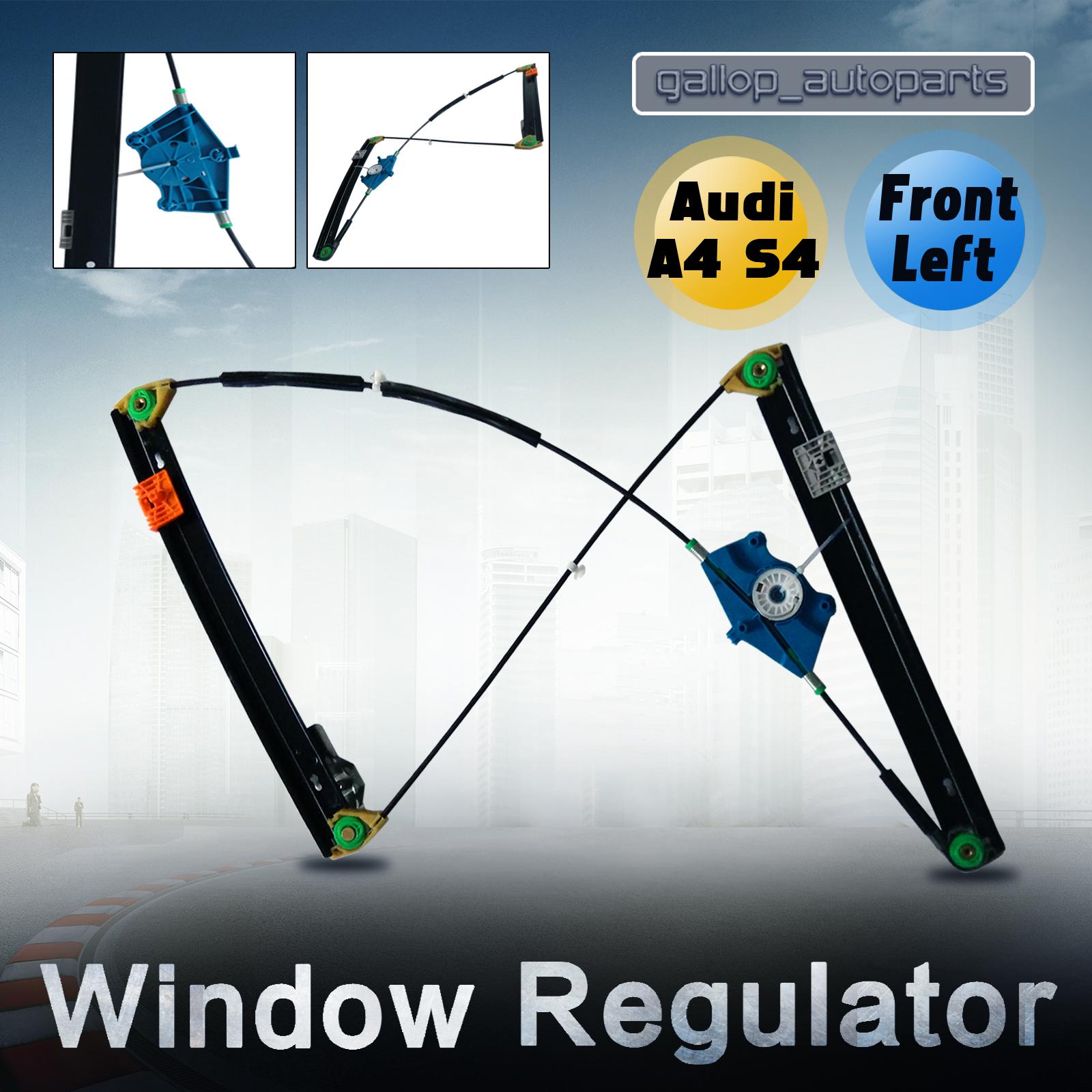 Window regulator audi a4 s4 02 08 passengers side front for 2002 audi a4 rear window regulator