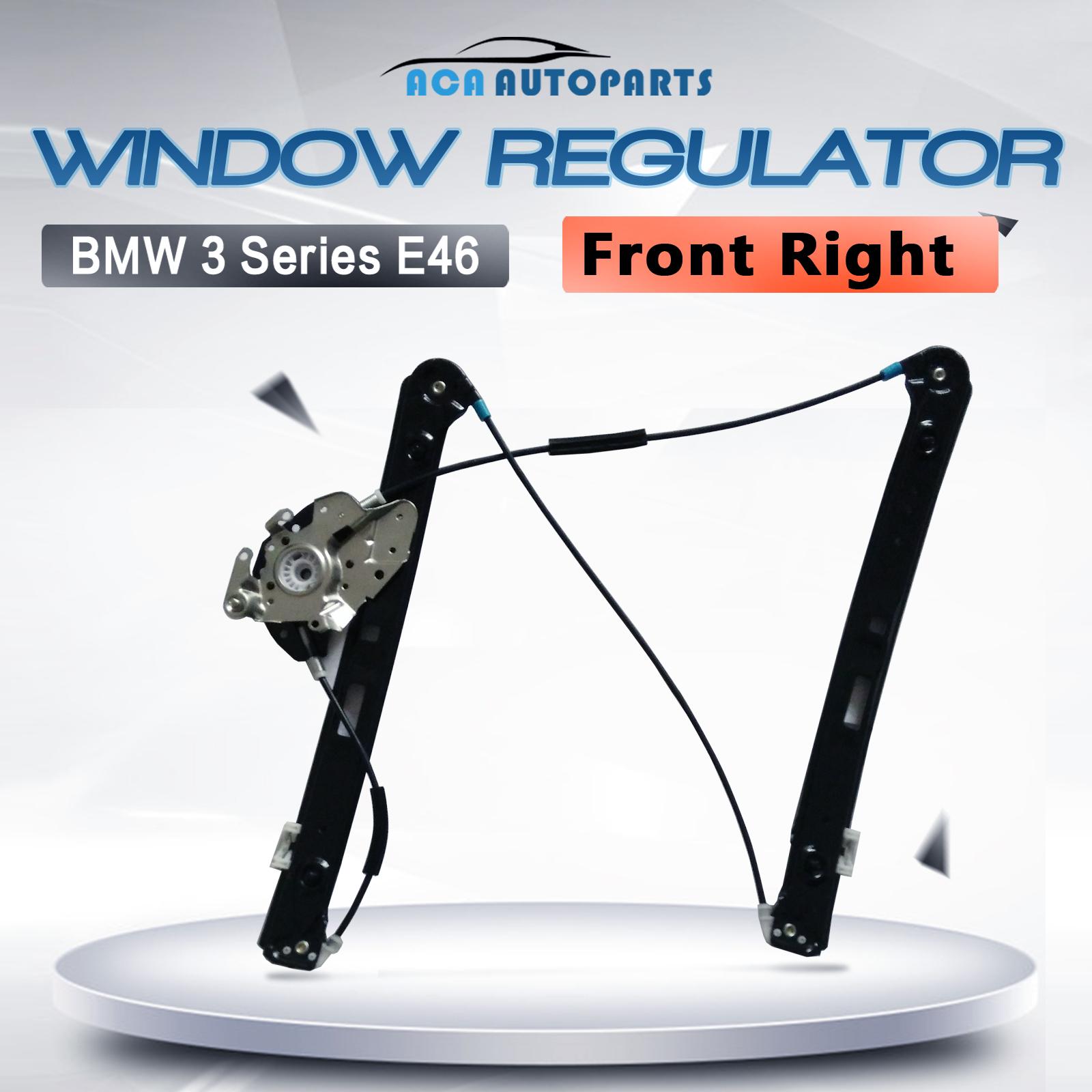 E46 bmw 3 series window regulator sedan front right driver for 2002 bmw 325i driver side window regulator