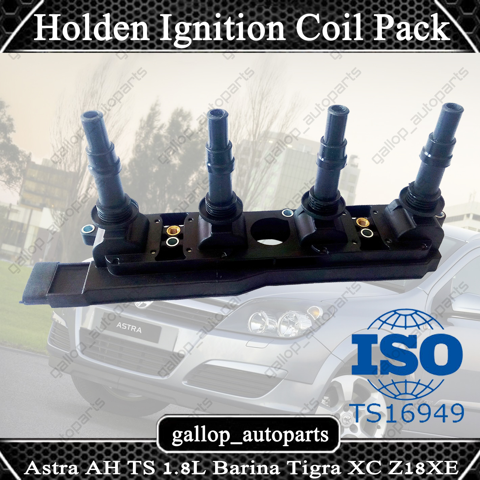 ignition coil pack for holden astra ah ts barina combo. Black Bedroom Furniture Sets. Home Design Ideas