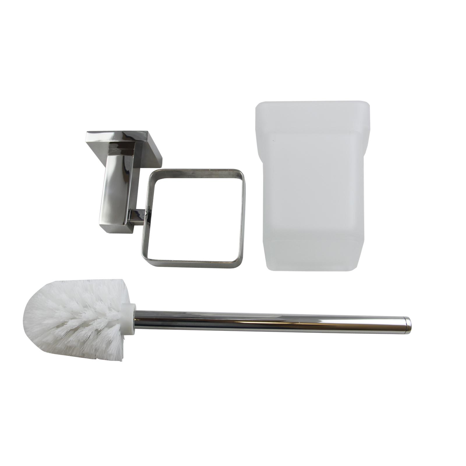 Bathroom Accessories Hand Towel Rail Rack Hook Toilet Brush Paper ...