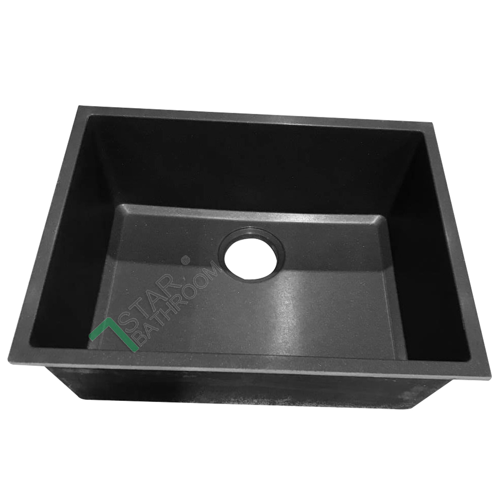 540mm black german granite quartz stone kitchen sink for German kitchen sinks