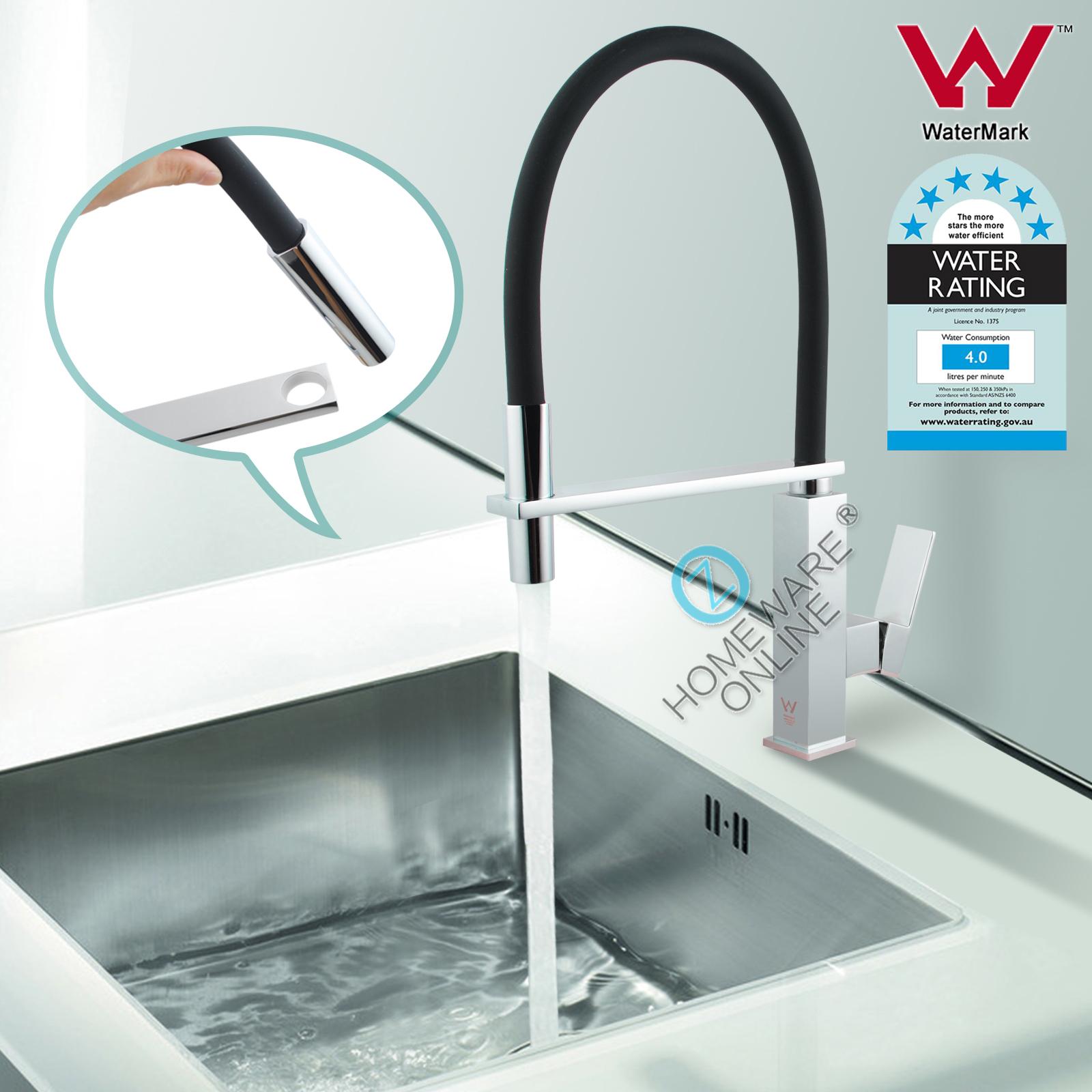 LEAD FREE White Elegant Swivel Kitchen Sink Mixer Tap Laundry Basin ...