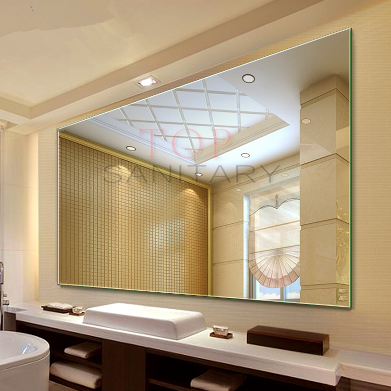 1500 X 900mm Mirror Bathroom Commercial Large Frameless Pencil Edge Wall Mounted Ebay