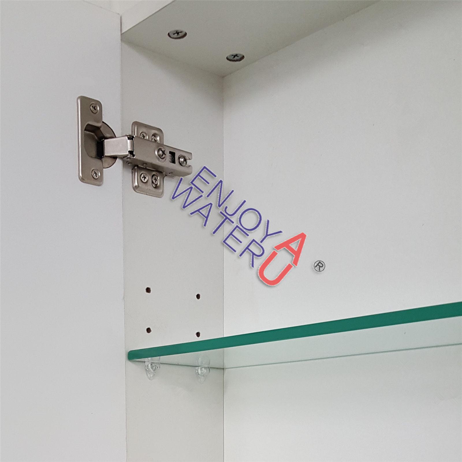White 750 x 720x150mm bevel edge bathroom vanity shaving for Mirror 750 x 1200