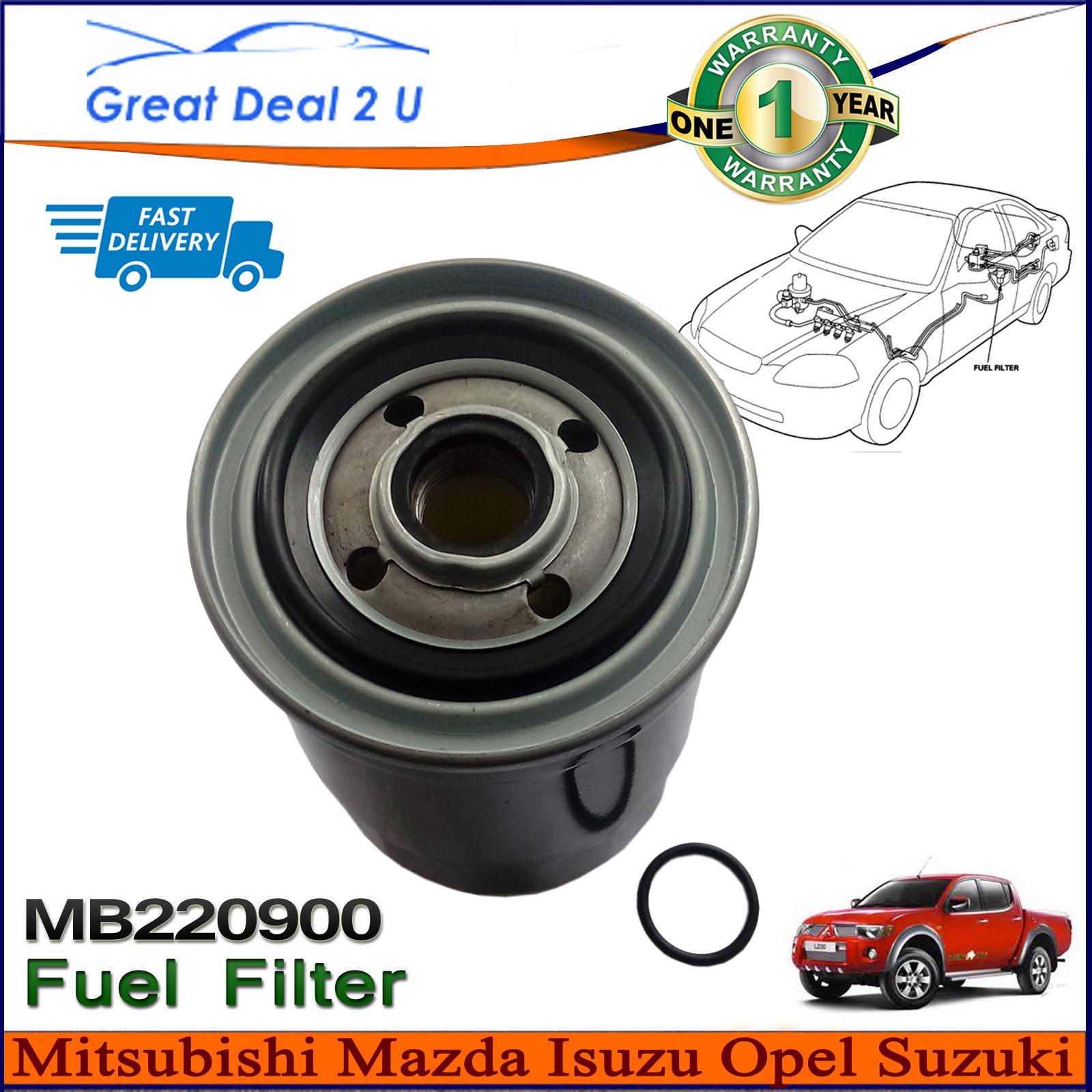 MB220900 Fuel Filter Mitsubishi Daihatsu Isuzu Suzuki Mazda Opel Vauxhall  Hyundai Daf 55